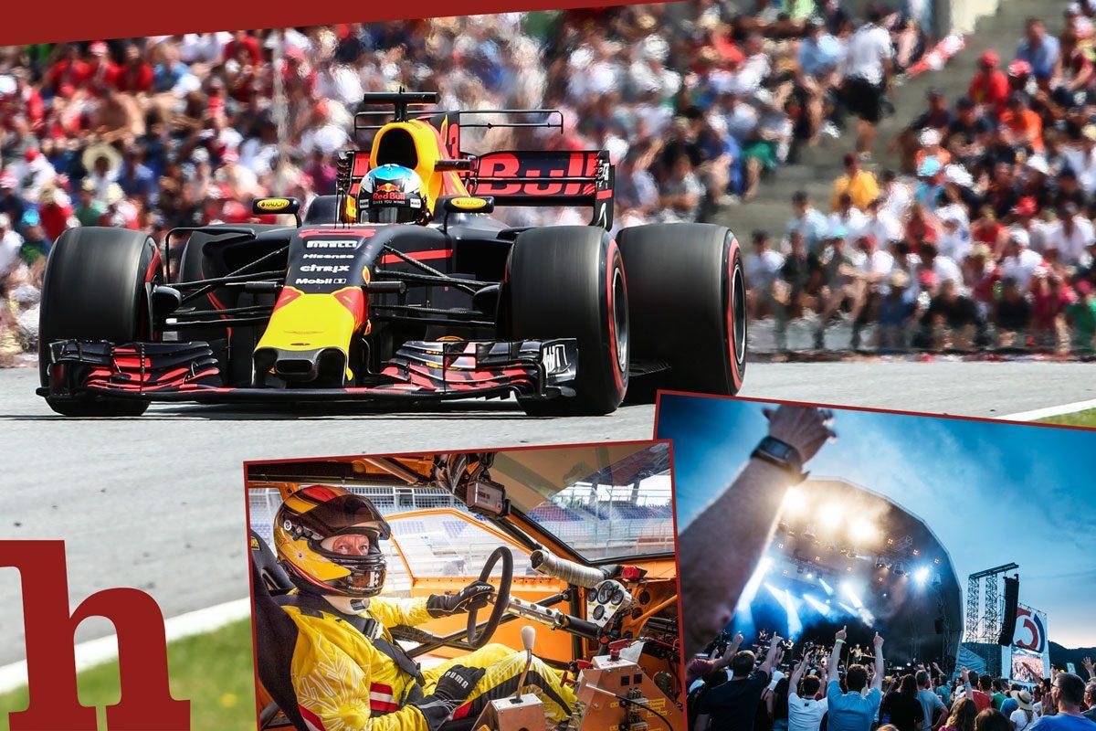 Formel 1 in Spielberg: Das sind alle Programm-Highlights 2018!