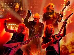 judas priest, legenden, gesamte band, gitarre, bass