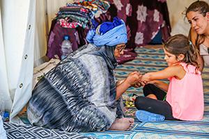 afrika tage, wien, festival, donauinsel, kinderschminken, kinderprogramm