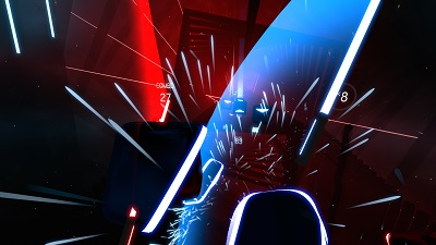 beat saber, screenshot, gameplay