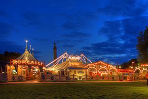 circus roncalli, tournee, show, zirkuszelt, stimmung, atmosphäre, gelände