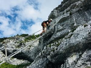 Klettersteig Leiter : Hochkar urlaub mit klettersteig tour für die ganze familie gewinnen