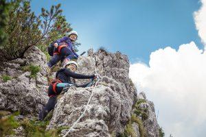 Hochkar-Klettersteige im Test: Schön & perfekt für Einsteiger!