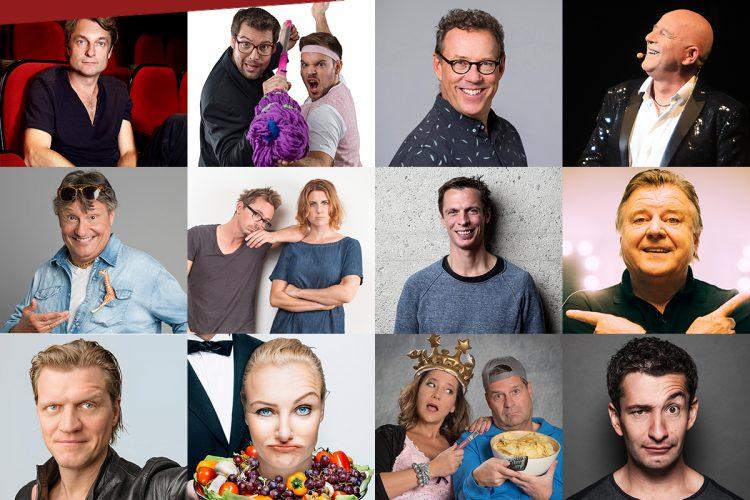 Wiener Kabarettfestival 2018 – 18 Comedy-Asse auf einer Bühne