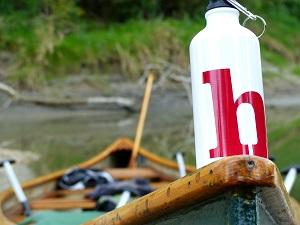 Kanufahrt, helden der freizeit, donau-auen, nationalpark, donau, altarm, boot, trinkflasche