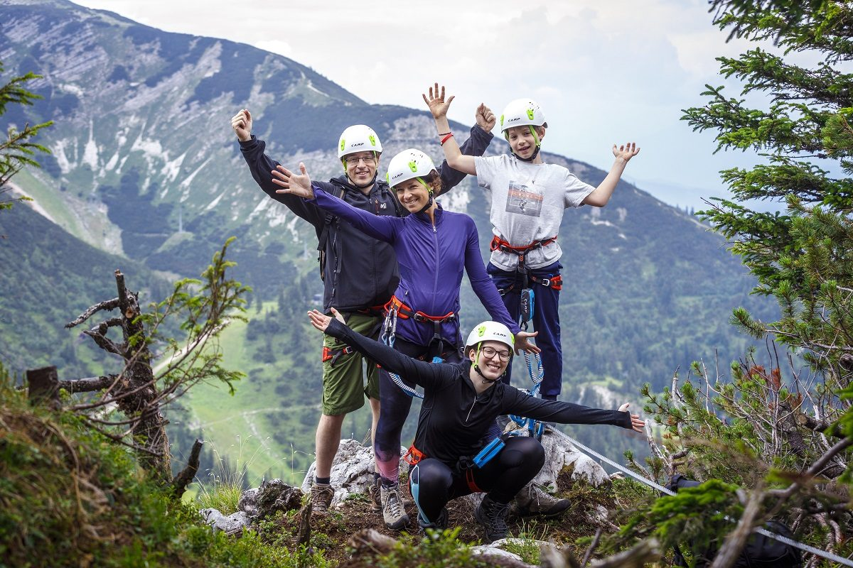 Hochkar-Urlaub mit Klettersteig-Tour für 4 gewinnen!