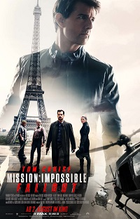 mission impossible, fallout, plakat, eiffelturm, paris