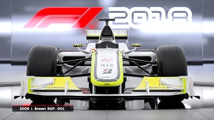 Brawn, BGP 001, 2009, altes auto, f1 2018, classic cars