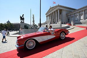 vienna classic days, oldtimer, wien, parlament, ring