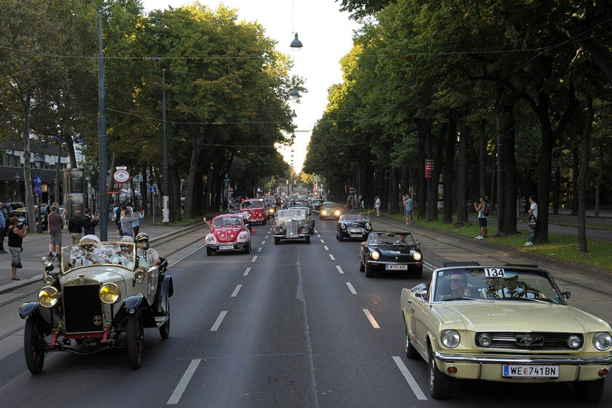 Vienna Classic Days – Oldtimer erobern die Straßen Wiens