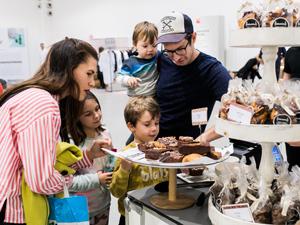 Design-Events, blickfang Wien, Familie, Messe, Schokolade, Vater, Mutter, Kinder, staunen, neugierig