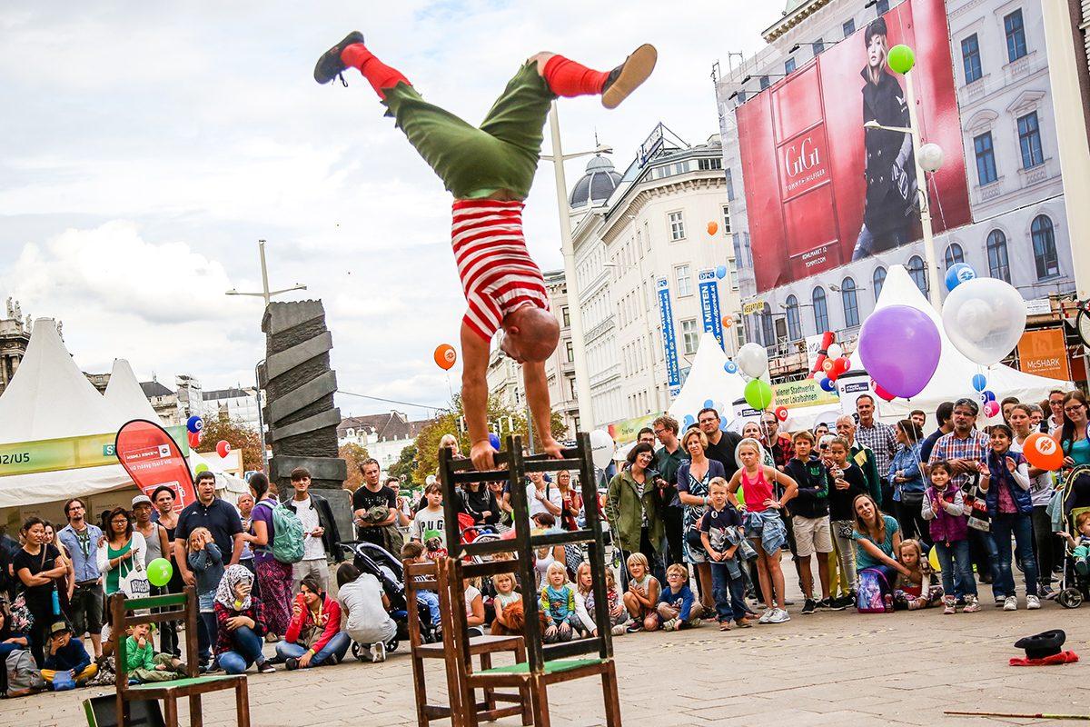 Streetlife Festival in Wien: Mariahilfer Straße wird zur Show-Bühne