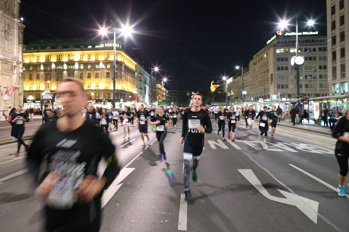 Vienna Night Run 2018: Sightseeing mal anders