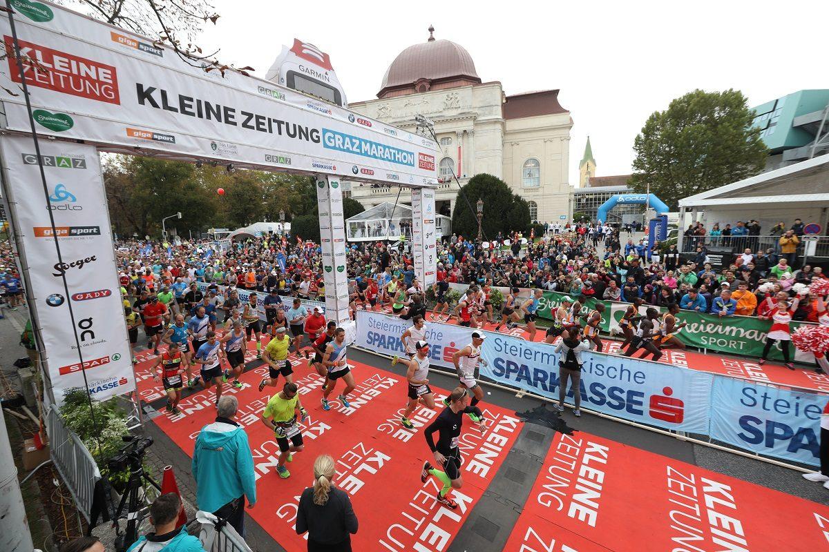 Graz Marathon 2018 – alles zu Bewerben, Programm und Strecke