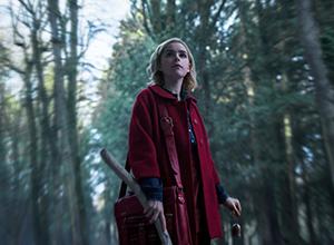 netflix oktober 2018, chilling adventures of sabrina, Kiernan Shipka, hexe, horror, okkult