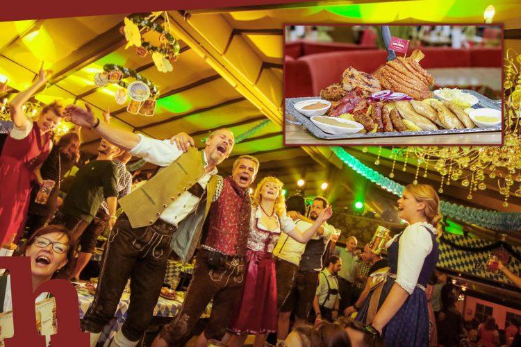 Kolariks Oktoberfest im Prater: Gewinnt Riesen-Grillplatte!