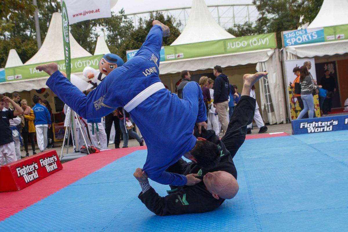 Tag des Sports 2018 – Prater wird Europas größter Sportplatz
