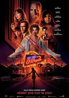 Bad Times at the El Royale, Filmplakat, poster, kinostart, cast