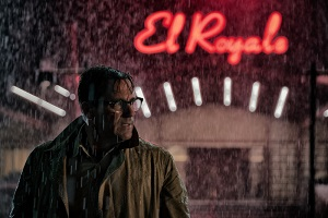 Bad Times at the El Royale, Jon Hamm, Eingang, Regen