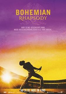 bohemian rhapsody, film, plakat