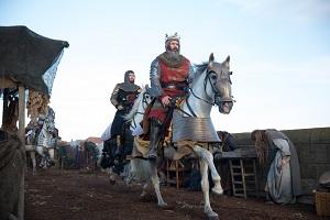 König, Outlaw King, Pferd
