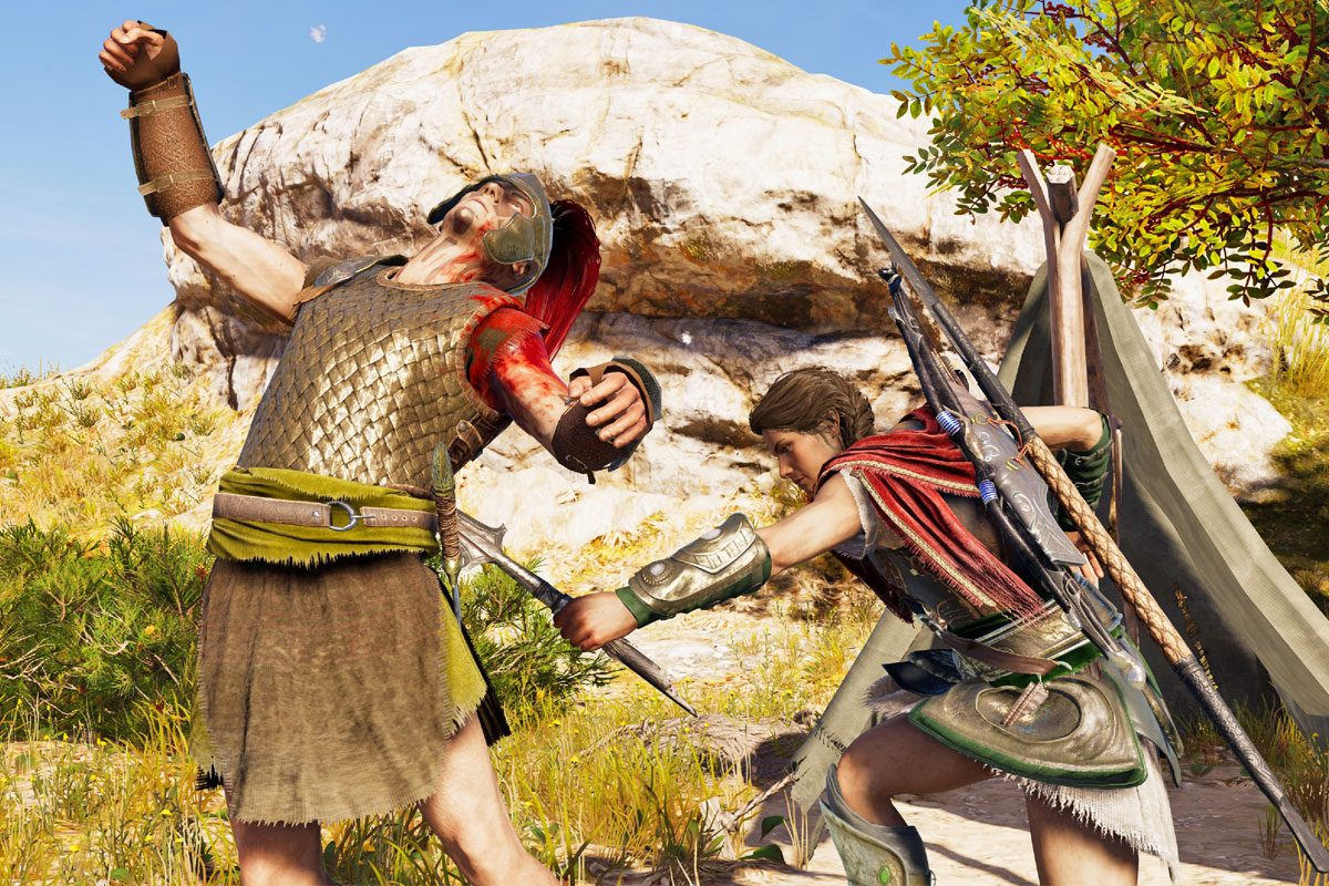 Assassin's Creed Odyssey im Helden-Test: Xena, steh um!
