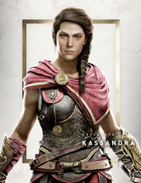 assassin's creed odyssey, assassin's creed, kassandra, test