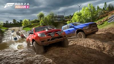 Forza Horizon 4, Schlamm, Rennen, Pickup, PC, Xbox One