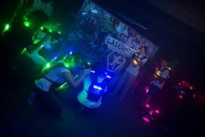 team-sport, lasertag, teams in der arena, lasermaxx, wien, 9. bezirk