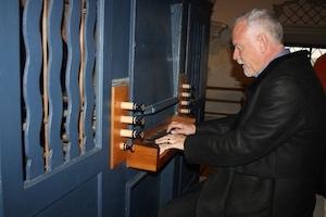 john debney, filmkomponist, orgel, arnsdorf, stille nacht