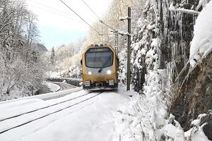 Mariazellerbahn, Himmelstreppe, Sonderfahrten, Adventfahrten, Winter