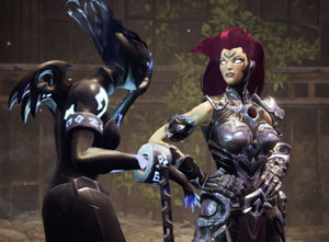 darksiders 3, fury, watcher, red