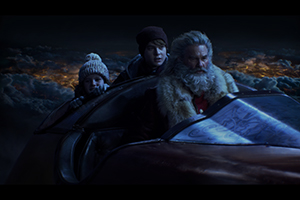 the christmas chronicles, kurt russell, judah lewis, darby camp, filmkritik, Review