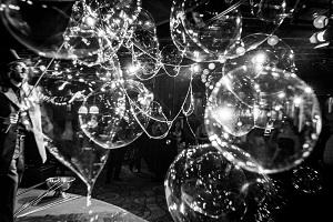 Seifenblasen, Dr. Bubbles, Casino, Baden
