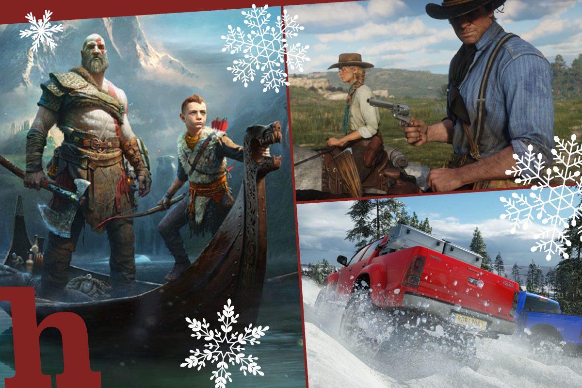 Geschenktipps für Zocker: Die 8 besten Games 2018