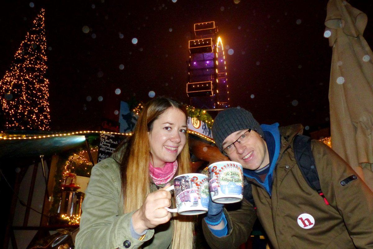 Wintermarkt am Riesenradplatz: Der Prater-Christkindlmarkt im Test