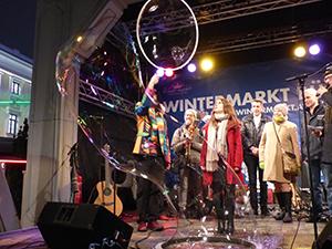 wintermarkt am riesenradplatz, wien, 2018, rahmenprogramm, prater, veranstaltungen