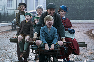 mary poppins' rückkehr, kinofilm, disney, fahrrad