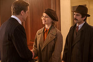 colin firth, emily mortimer, ben whishaw, bank, filmkritik, kritik