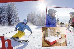 Gewinnspiel, Annaberg, JUFA, Hotel, Zimmer, Essen, Anna-Alm, Skifahrer