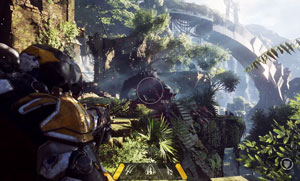 anthem, gameplay, action, 2019