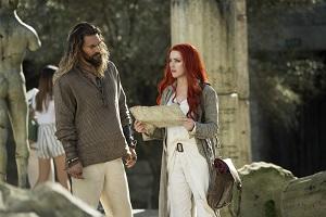 Jason Momoa, Amber Heard, Aquaman