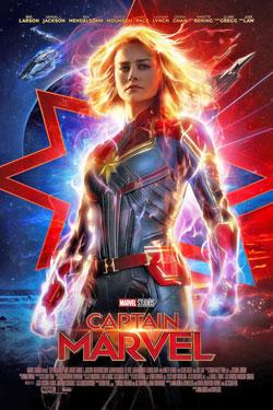 captain marvel, brie larson, superhero, kino, poster, die besten filme, 2019