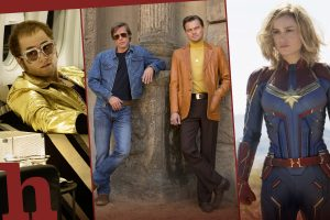 once upon a time in hollywood, captain marvel, rocketman, elton john, filme, die besten filme, 2019, highlights, kinojahr