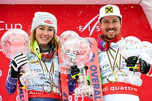 Mikaela Shiffrin, Marcel Hirscher, Are, Ski, Rennen, Podest, Kristallkugeln, WM-Favoriten