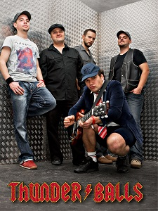 ac/dc tribute band,thunderballs