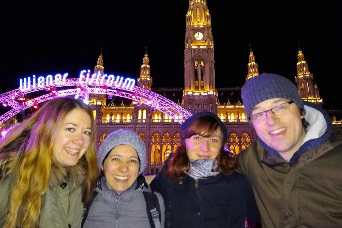 Wiener Eistraum im Test: Das kann Eislaufen auf zwei Etagen