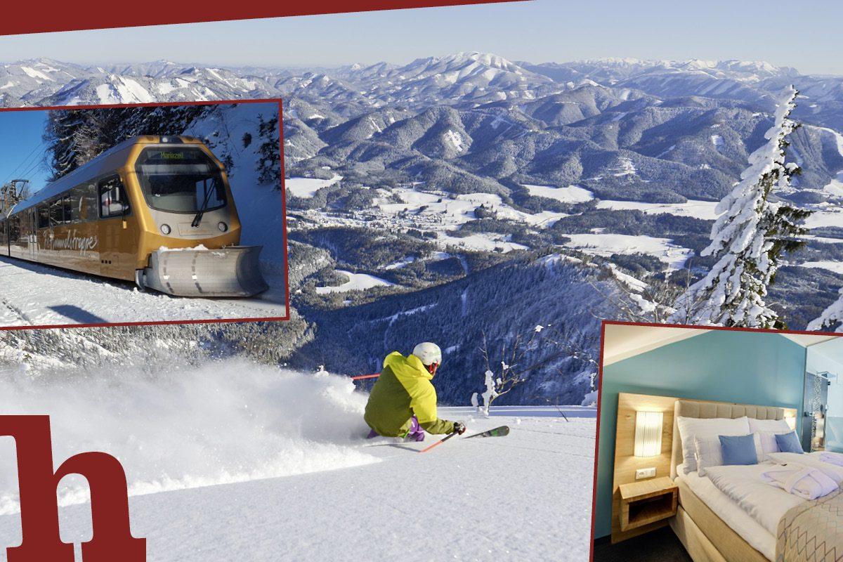 Gemeindealpe: Gewinnt perfekten Skitag für 2 mit Traum-Quartier