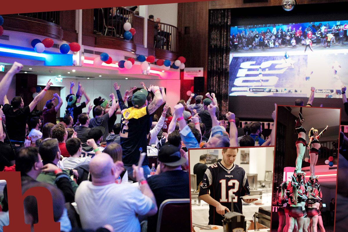 Super Bowl Party in Wien: Gewinn Karten mit All You Can Eat & Drink