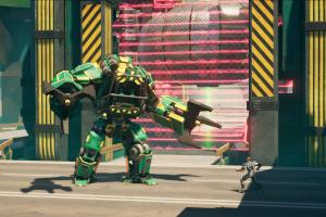 Crackdown 3, Terra Nova, Boss, Roboter, Mecha, Bosskampf,